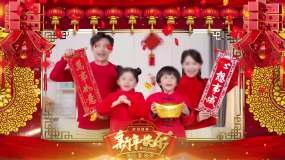 2021年牛年春节晚会拜年祝福视频框13视频素材包
