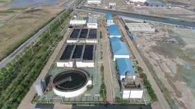 【实拍】污水处理厂工业净水视频素材
