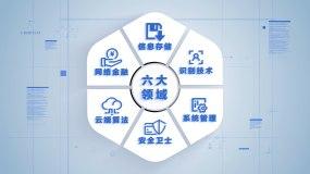 6款数据图形分类应用领域汇总AE模板