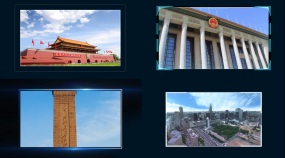 多种图片出现方式AE模板