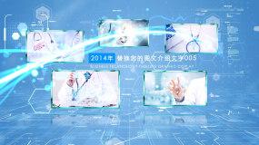 简洁干净医疗图文ae模板AE模板