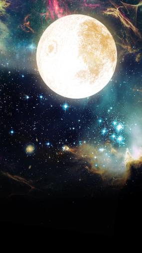 高清唯美星空素材视频素材
