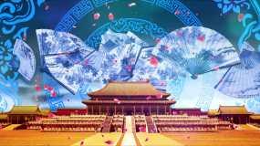 4K汉唐宫廷背景循环视频素材