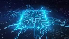 科技电路板视频素材