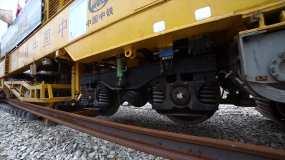 铁路施工视频素材