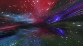 星空星云穿梭视频素材