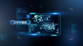 科技相框图文展示AE模板