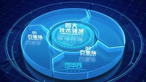 科技信息分类图AE模板