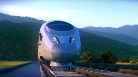 火车高铁三维动画视频素材视频素材