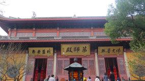杭州西湖灵隐寺药师殿视频素材