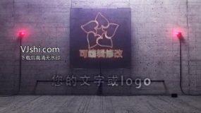 3d霓虹灯logo演绎ae模板AE模板