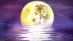 4K月亮之上配乐成品-凤凰传奇视频素材