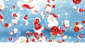 圣诞节礼物雪花视频素材