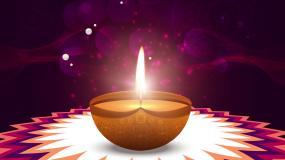 斋月节蜡烛灯背景视频素材