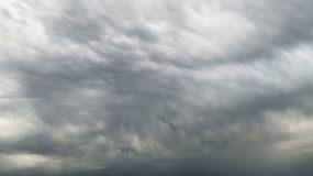 【HD天空】阴天乌云下沉云层缓动超长延时视频素材