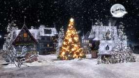圣诞节背景视频素材