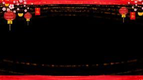无缝循环边框-带通道视频素材