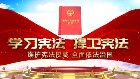 大气党政宪法宣传片头AE模板