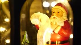 【4k原创】圣诞节气氛空镜头视频素材