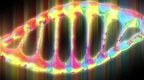 酷炫变色DNA视频素材