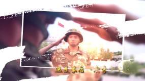 Pr欢送老战友退伍视频Pr模板