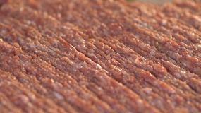 美食肉末撒葱花实拍素材视频素材