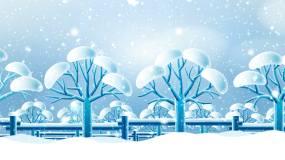 圣诞节下雪视频素材