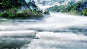 水墨山水仙境国画山水画中国风视频素材