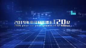 大气科技字幕总合成02AE模板