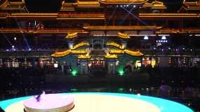 东坡印象水街夜景视频素材