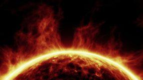 燃烧的太阳视频素材