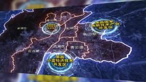 南昌行政矢量地图最新AE模板