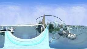 深圳未来城市VR视角展示素材需带VR眼镜视频素材