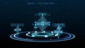 科技分类构架AE模板