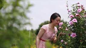 唯美花园创意写真视频素材