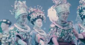苗族舞蹈表演4K视频素材包