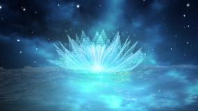 蓝色唯美梦幻LED大屏视频素材