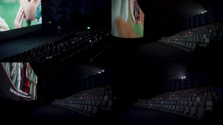 【原创4K】电影院放映实拍