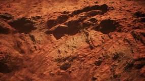 原创制作火星星球地貌景观视频素材