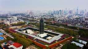 南京大报恩寺琉璃塔视频素材