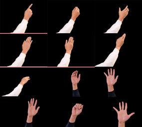 实拍手指点击手势触摸操作科技交互屏幕视频视频素材