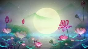莲花心舞蹈背景视频素材