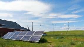 光伏太阳能发电视频素材