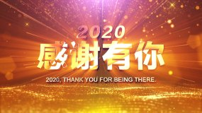 2021震撼大气年会开场视频视频素材