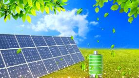 4K绿色新能源环保LED背景视频视频素材