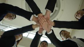 【新】销售团队加油ok视频素材