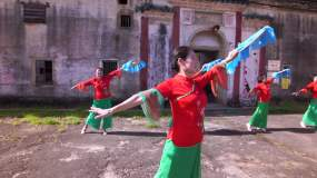 客家情舞蹈视频素材
