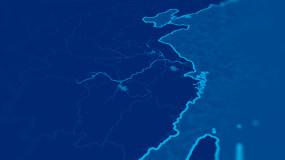 大运河地图AE模板AE模板