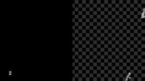 【素材包】3段仙鹤群飞过俯视视频素材包