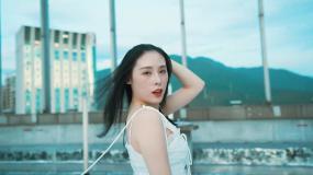 情侣炫酷走秀展示视频素材